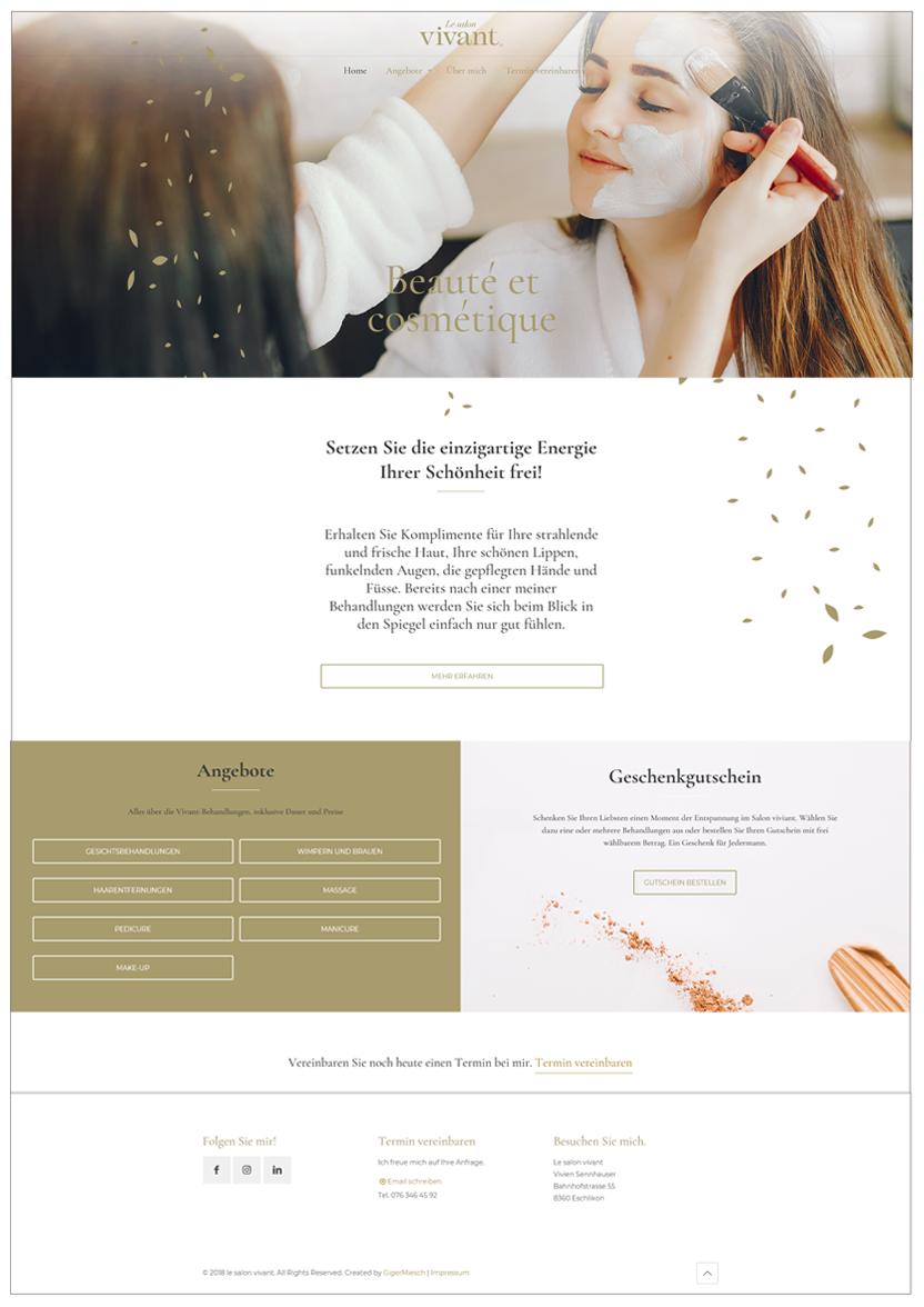 Webseite Wordpress – Webagentur – Gasser Miesch St. Gallen