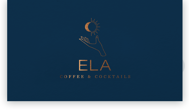 ela-coffee-cocktails-chur-Logodesign– Gasser Miesch St. Gallen
