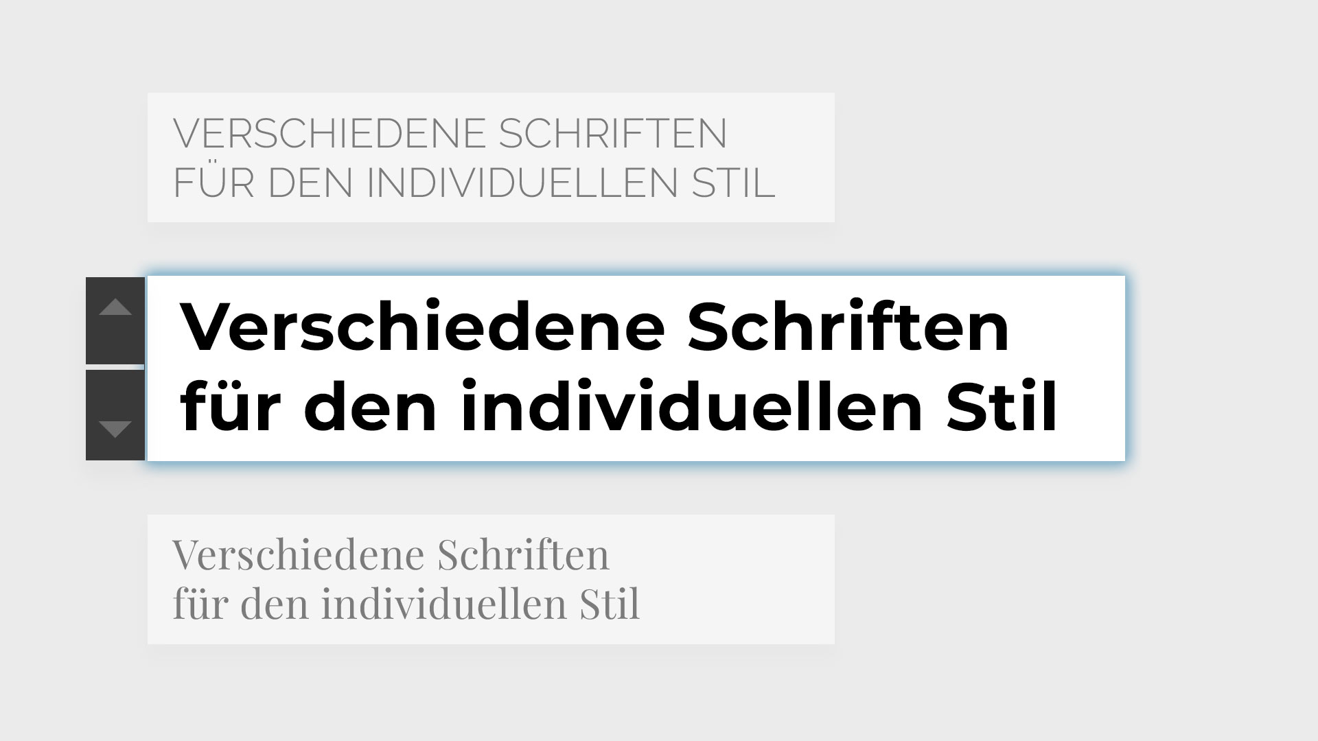 Typografie– Website SBB Immobilien – Webseiten Template – Gasser Miesch St Gallen