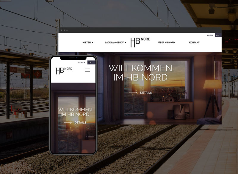 Website Design SBB Immobilien – Gasser Miesch St Gallen