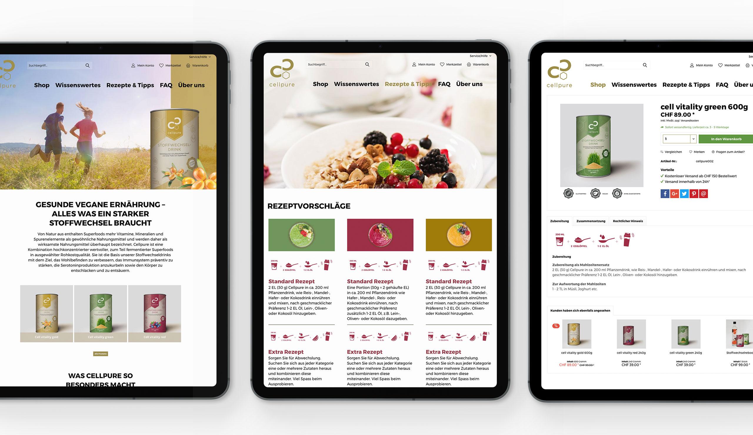 cellpure-stoffwechseldring-webdesign-webagentur-gasser-meisch-stgallen
