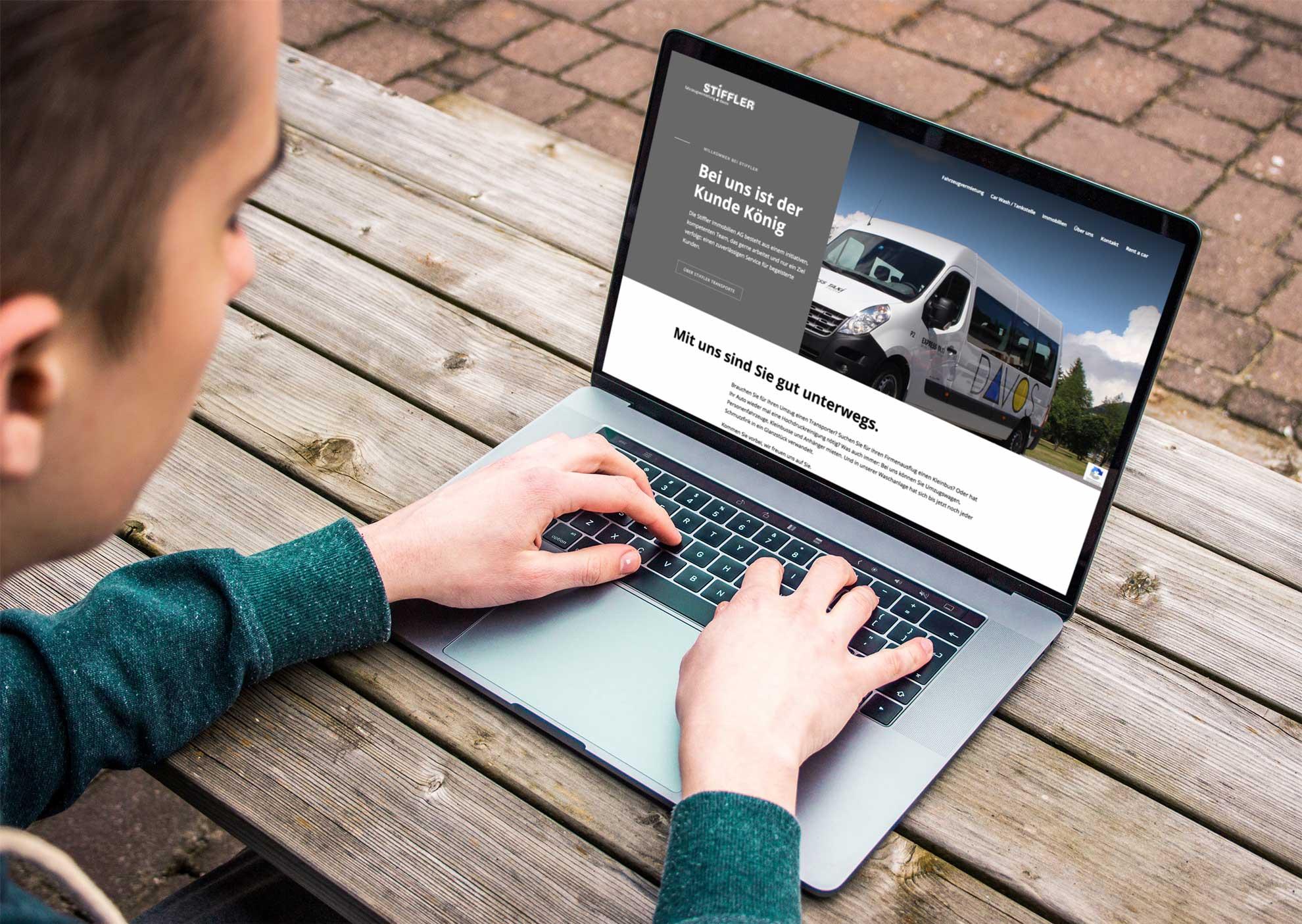 stiffler-fahrzeugvermietung-davos-webdesign-werbegantur-gassermiesch-stgallen